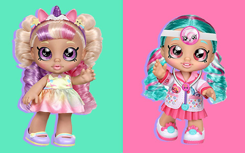 New Kindi Kids dolls 2020 Mysta Bella and Cindy Pops