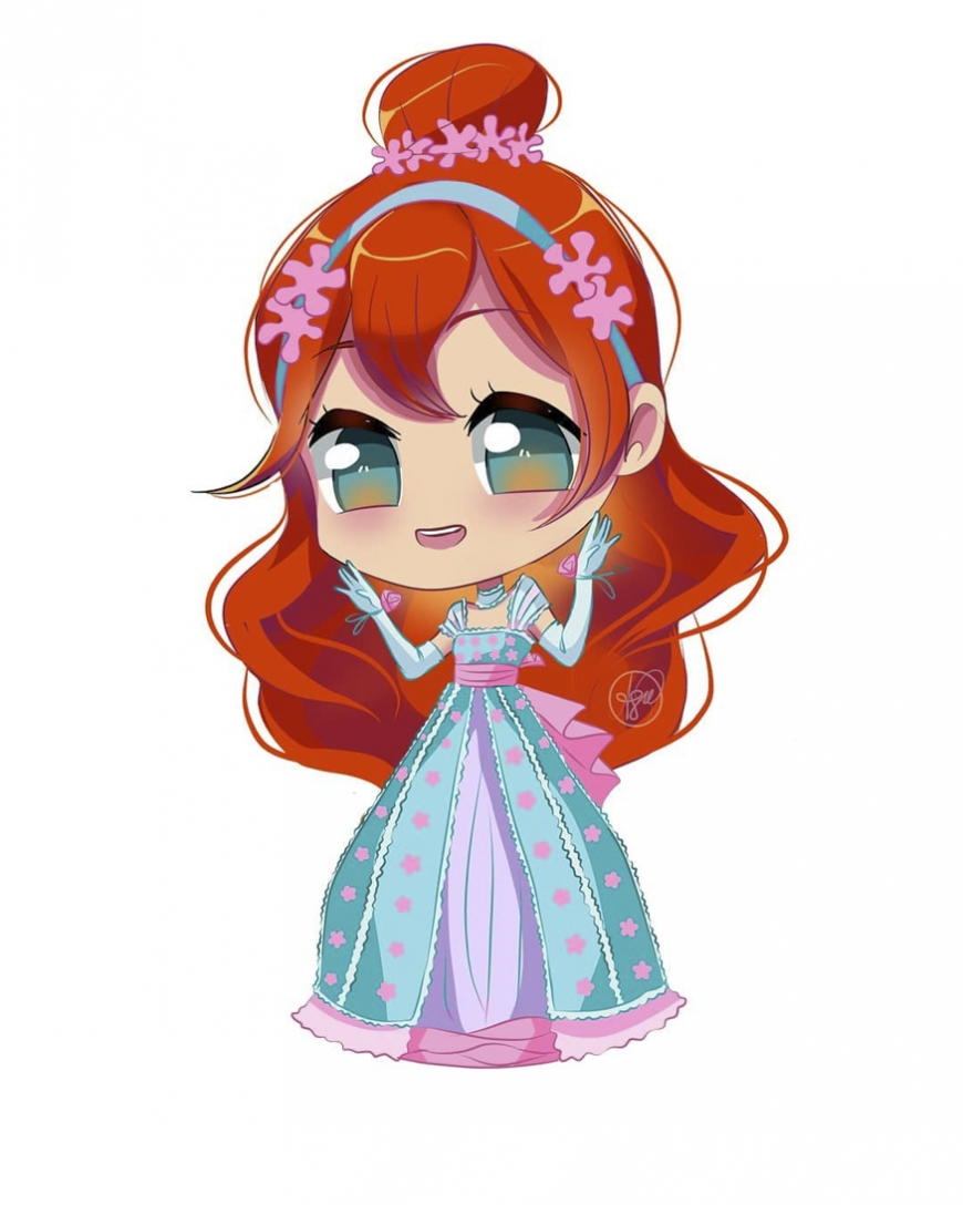 Winx club Bloom season 3 clothes