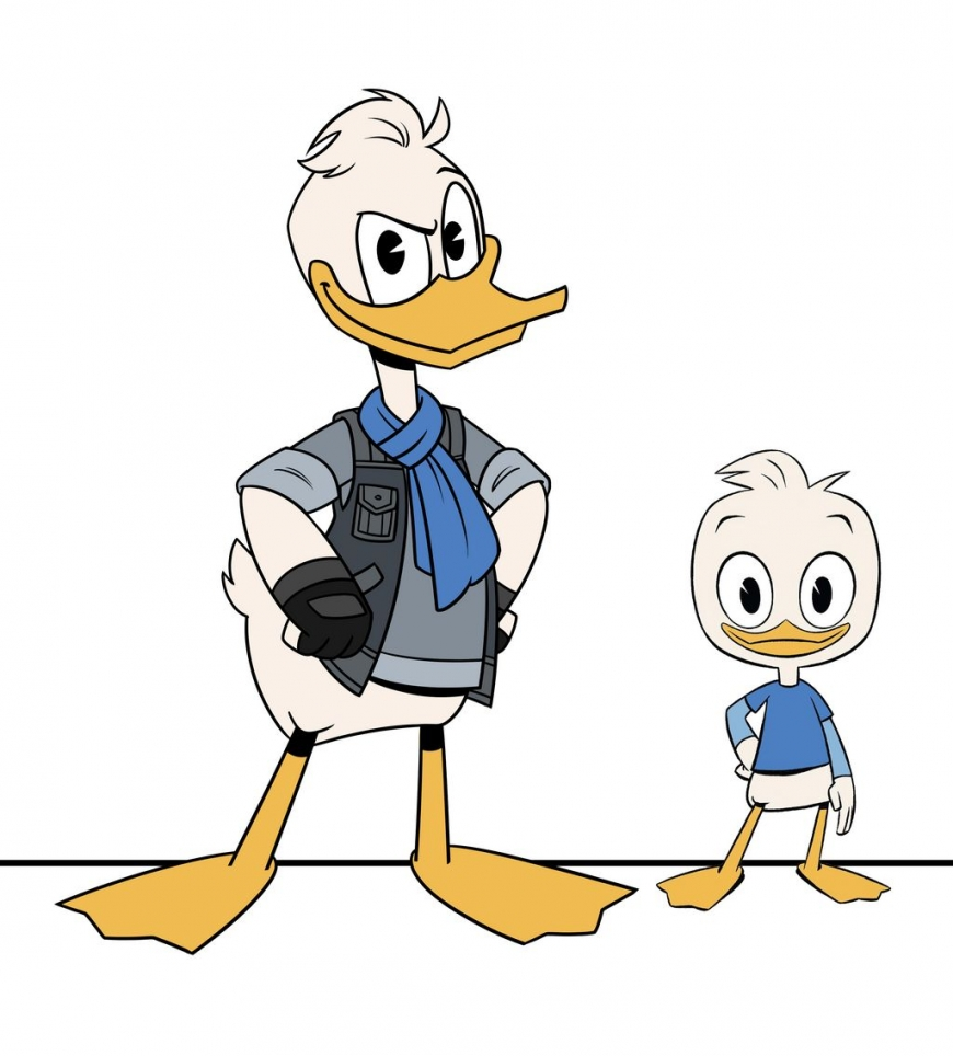 Ducktales grownup Dewey
