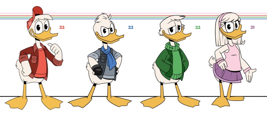Ducktales older