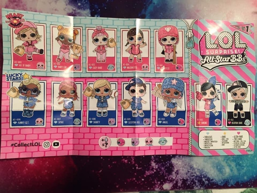 LOL Baseball All star bbs pink and blue teams