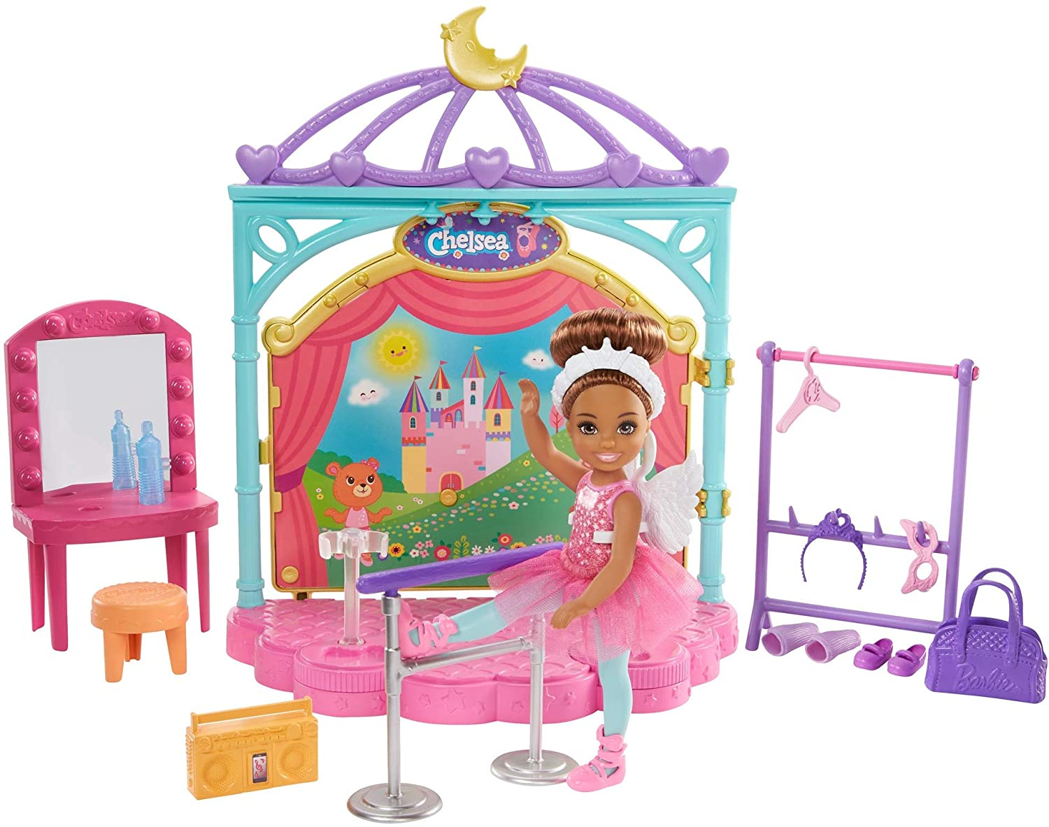 Barbie Club Chelsea Dolls Ballet And Snack Cart Playsets Youloveit Com