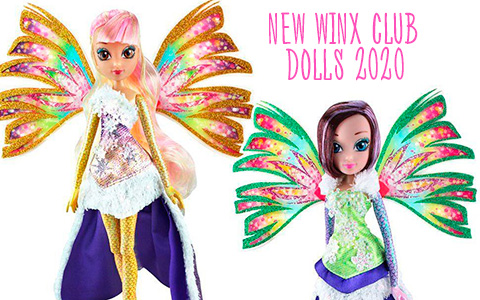 New Winx Club dolls Winx Spinning Enchantix and Crystal Sirenix 2020