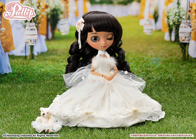 Pullip Eclata first dark skin Pullip doll