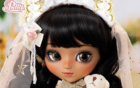 Eclata first-ever Pullip doll with a wheaten skintone