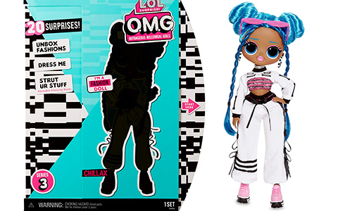 LOL OMG Chillax fashion doll is out for preorder!