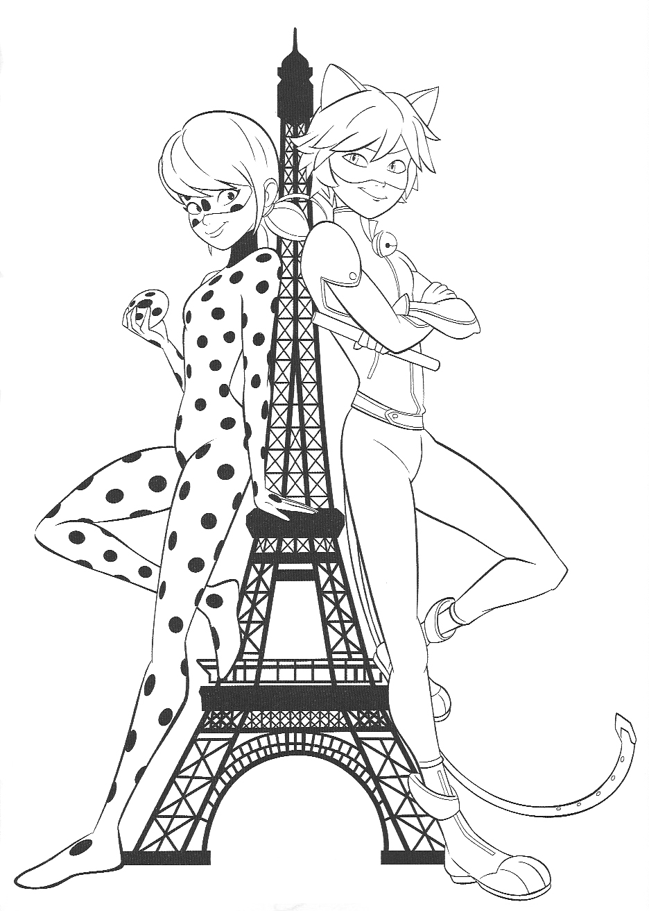 New Beautiful Miraculous Ladybug Coloring Pages Youloveit Com