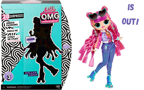 LOL OMG Roller Chick doll is out for pre order