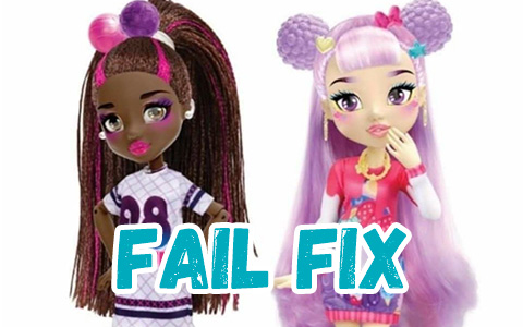 New adorable Fail Fix fashion dolls from Moose Toys