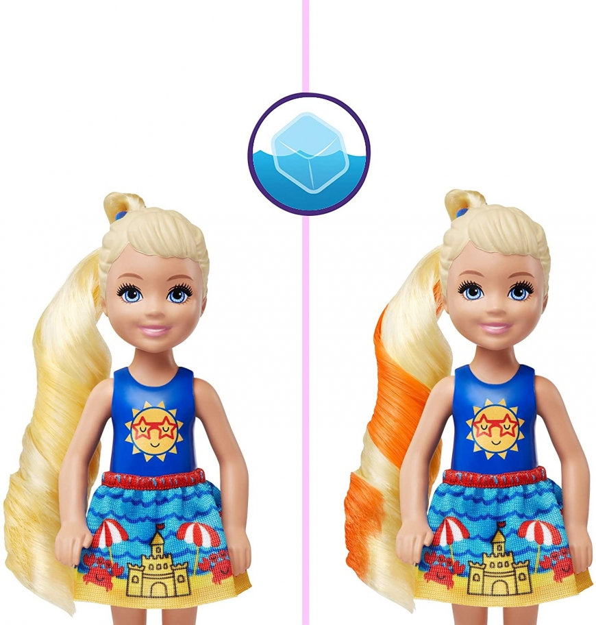 Barbie Color Reveal Chelsea series 2