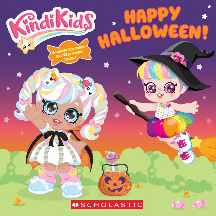 The Happy Halloween! Kindi Kids book