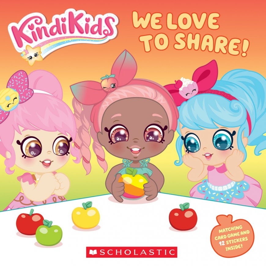 We Love to Share! Kindi Kid book