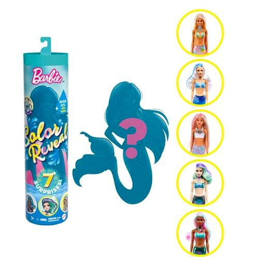 Barbie Color Reveal Mermaid