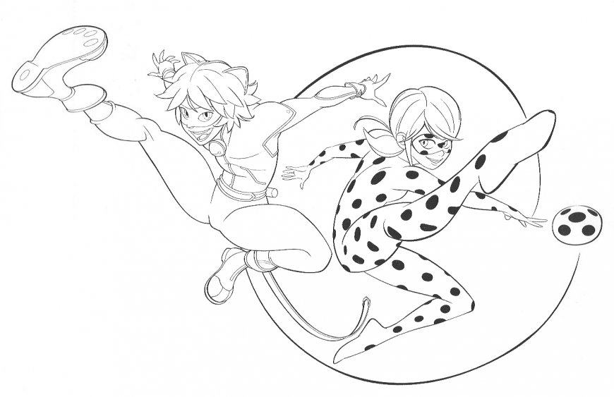 Miraculous Ladybug coloring page new picture