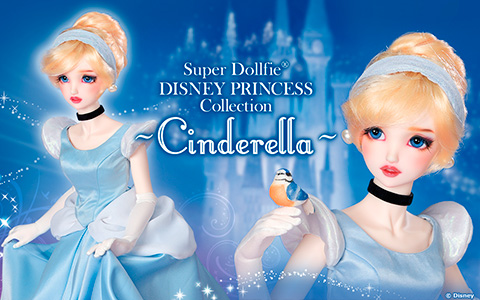 Super Dollfie Disney Princess Cinderella doll