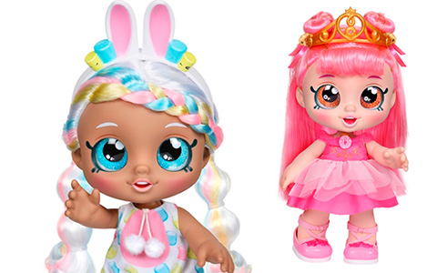 Kindi Kids Dress Up Friends and Exclusive Twin Pack - Jessicake & Donatina dolls