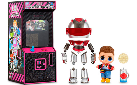 LOL Surprise boys Arcade Heroes 1 series. Updated with links, video, images and checklist