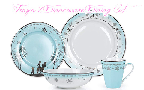 Incredible 16-piece Disney Frozen 2 Dinnerware Dining Set