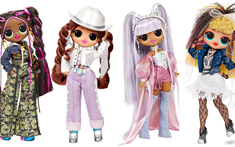 LOL OMG Remix dolls – Kitty K, Lonestar, Pop B.B., Honeyliciuous