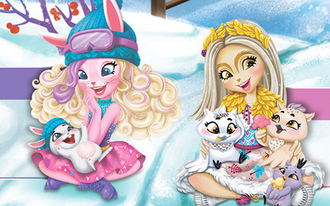 Enchantimals Snowy Walley pictures