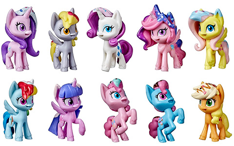 My Little Pony Mega Friendship Collection and Unicorn Party Celebration sets