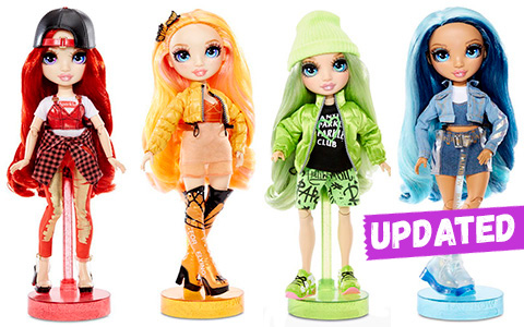 New Rainbow Surprise Rainbow High fashion dolls coming in 2020. Update