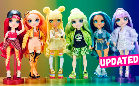 New Rainbow High fashion dolls coming in July 2020. Update