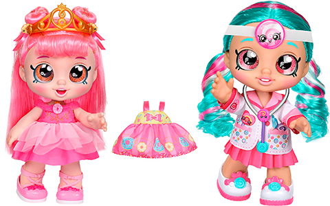 Kindi Kids Dress Up Friends Donatina and Dr Cindy Pops dolls are out for pre-order