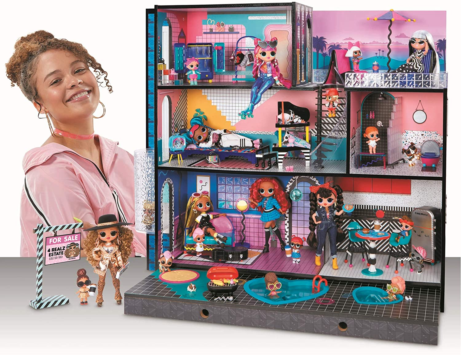 Lol Surprise Omg House 2020 New Real Wood Doll House Youloveit Com