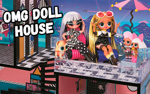 First LOL Surprise OMG doll house 2020