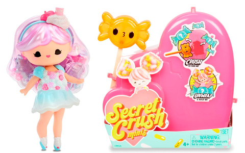 Secret Crush Minis are released- new cute collectibles mini dolls from MGA Entertainment