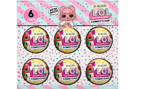 LOL Surprise Confetti Pop re-release is now available online