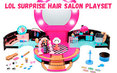 LOL Surprise JK Hair Salon Playset with exclusive LOL JK doll