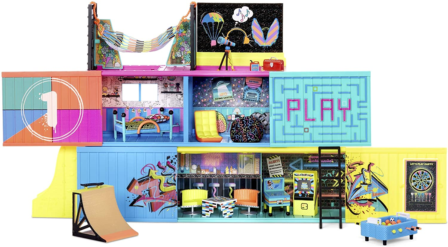 Lol Surprise Clubhouse Playset With 2 Exclusive Tots 2020 Youloveit Com