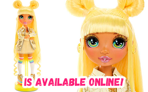 Rainbow High Sunny Madison Yellow doll is available now!
