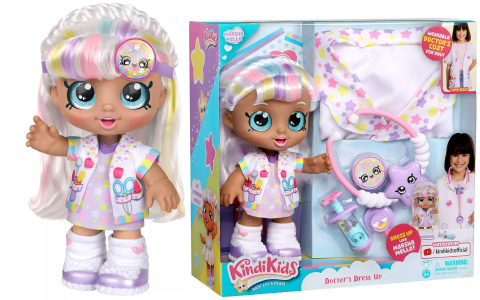 Kindi Kids Marsha Mellow Dress Up Doctor Coat doll