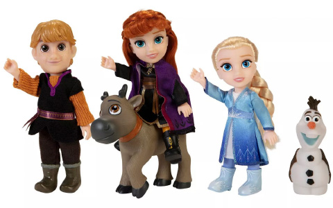 Disney Frozen 2 Petite Adventure Dolls Gift Set