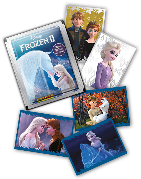Frozen 2 Crystal Sticker Collection Panini