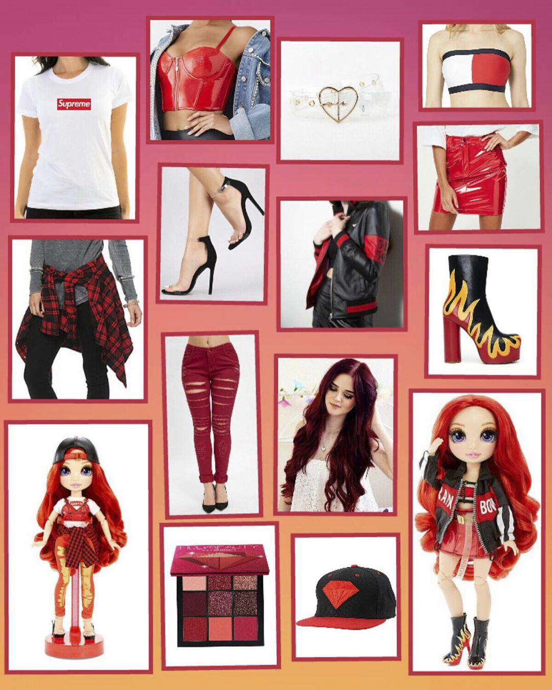 Real fashion inspiration behind Rainbow High dolls ...