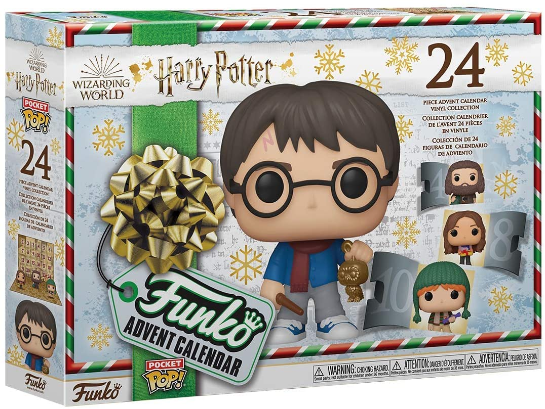 Funko Harry Potter 2020 Winter Holidays toys: Advent calendar, Pop