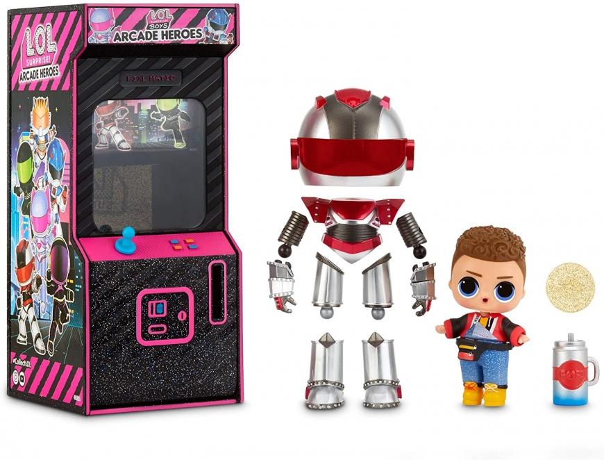 LOL Surprise Arcade Heroes box