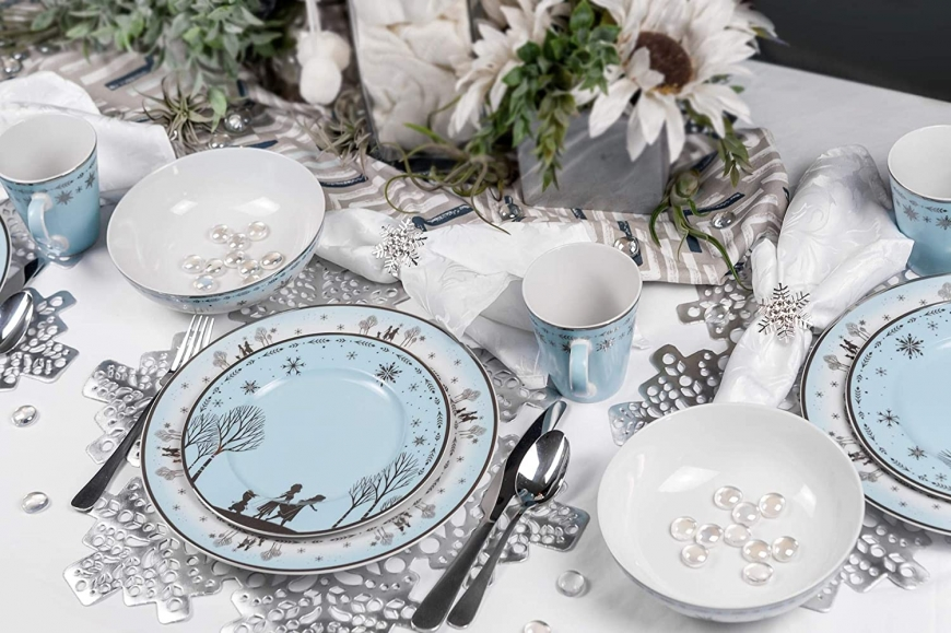 Frozen 2 Anna & Elsa Themed Dinnerware Dining Set Robe Factory