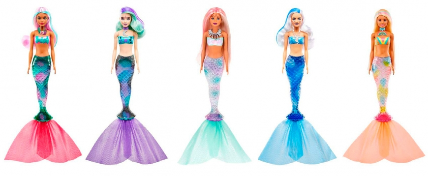 Barbie Mermaid color reveal