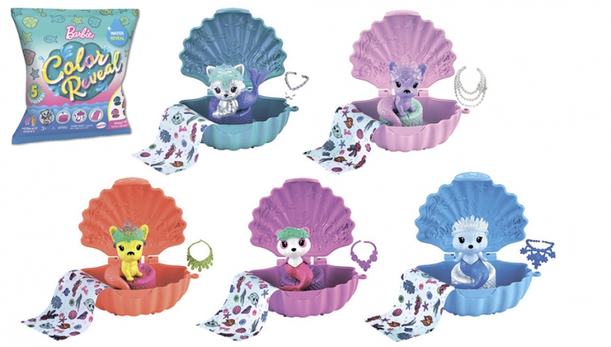 Barbie Color Reveal Mer Pets
