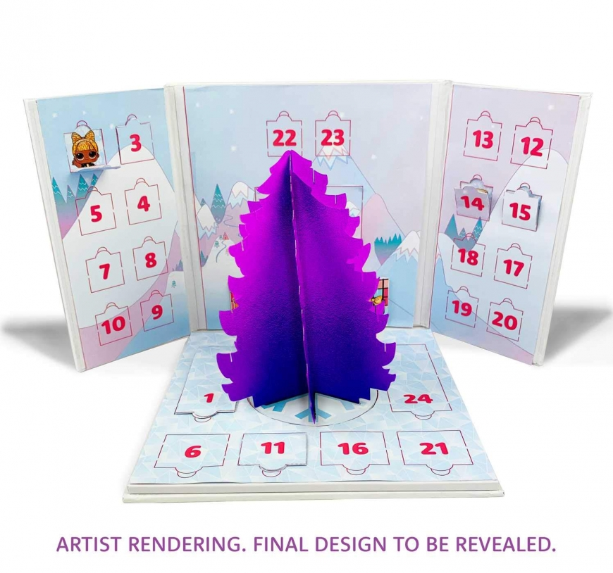 LOL Surprise Bling-A-Tree Advent Calendar 2020