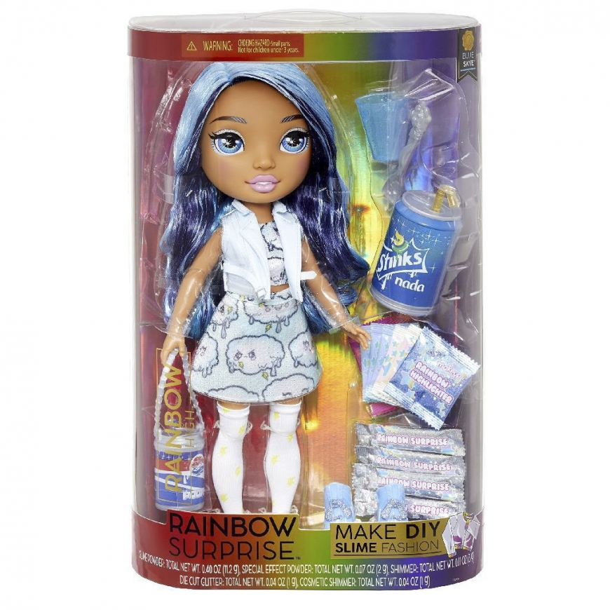 Rainbow High Rainbow Surprise re-release Blue Skye doll