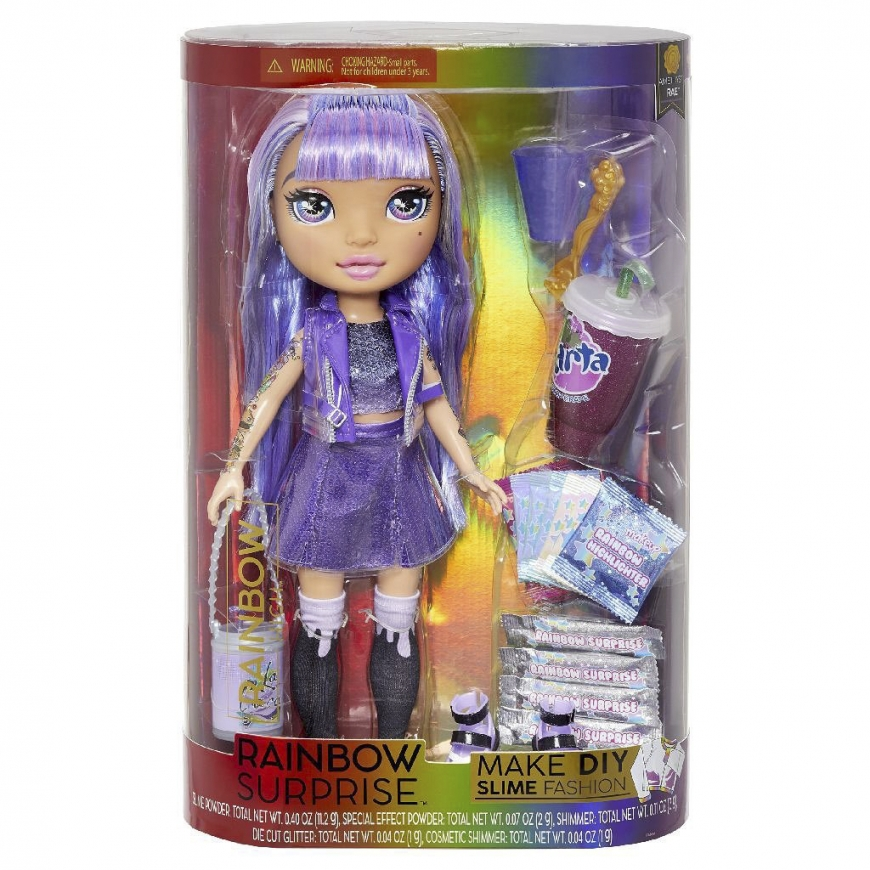 Rainbow High Rainbow Surprise re-release Amethyst Rae doll