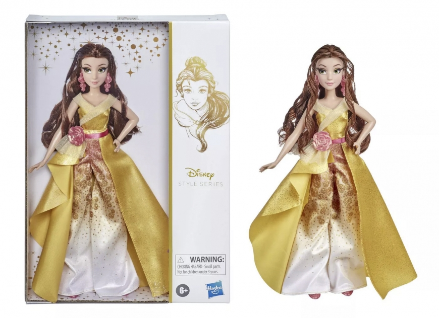 Disney Princess Style Series Belle pants doll 2020