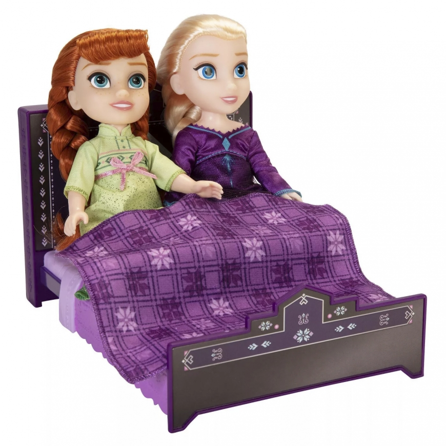 Disney Frozen 2 Petite Anna and Elsa Lullaby Gift Set dolls