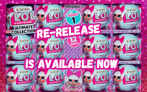 LOL Surprise Series 1 Ultimate Collection re-release Diva 12 pack is available now